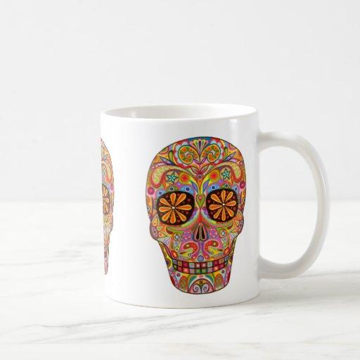 Día del muerto/del Dia de los Muertos Taza De Café