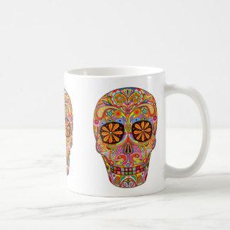 Día del muerto del Dia de los Muertos Taza De Café