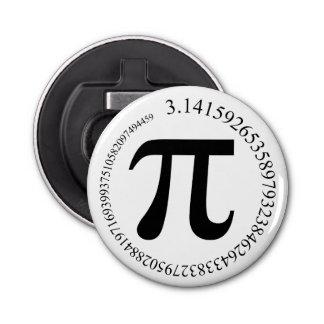 Día del pi (π) abrebotellas redondo