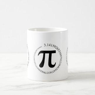 Día del pi (π) taza