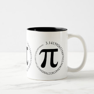 Día del pi π taza de café