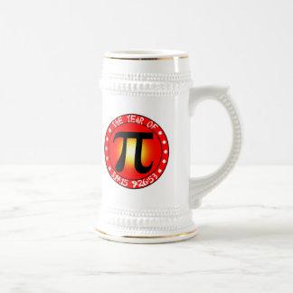 Día del pi - año de pi 3/14/15 9:26: 53 jarra de cerveza