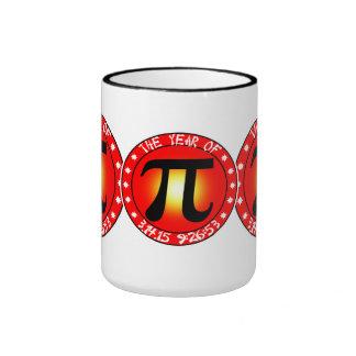 Día del pi - año de pi 3/14/15 9:26: 53 tazas de café