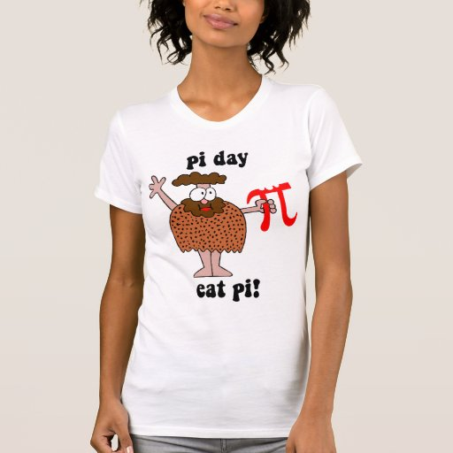 Día del pi camisetas