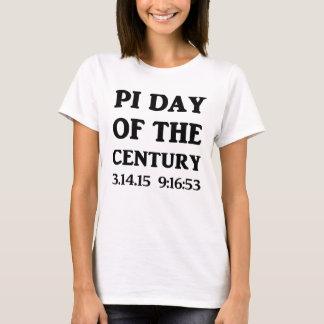 Día del pi del siglo playera