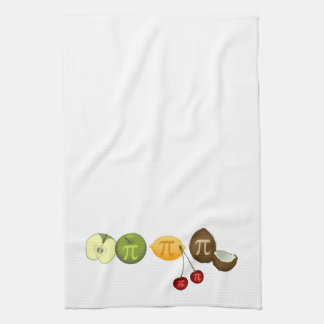 Día del pi toallas de cocina