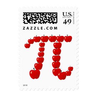Día del pi sellos postales