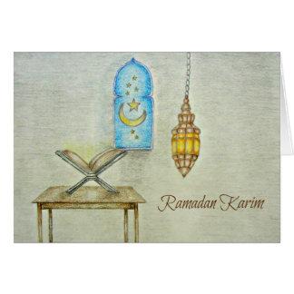 Día del Ramadán Tarjeta De Felicitación