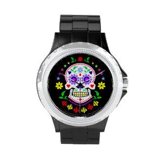 Día del reloj muerto del diamante artificial del c