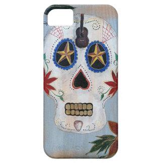 Día del rollo de la roca N del cráneo muerto iPhone 5 Case-Mate Protector