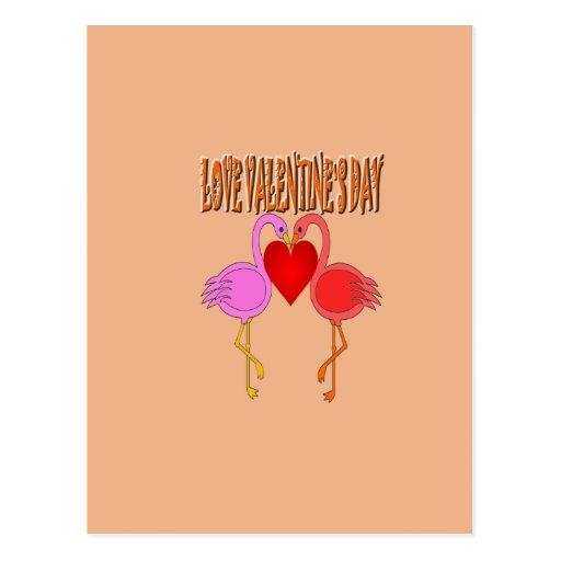 Día del ` s de la tarjeta del día de San Valentín Postales