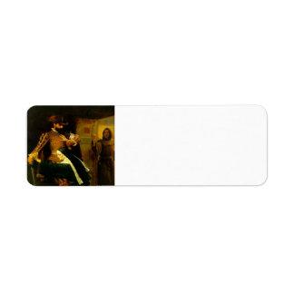 Día del St. Bartholemew de John Everett Millais Etiquetas De Remite