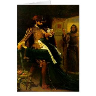 Día del St. Bartholemew de John Everett Millais Felicitacion