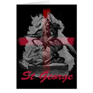 Día del St Jorte Tarjeta De Felicitación