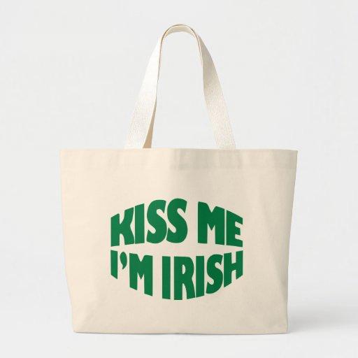 Día del St. Patricks Bolsa Lienzo