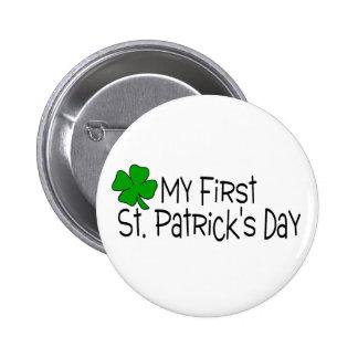 Día del St. Patricks de Babys del día del St Patri Pin