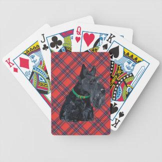 Día del St Patricks de Terrier del escocés Baraja