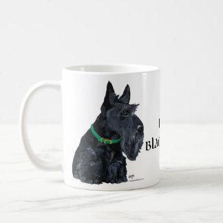 Día del St Patricks de Terrier del escocés Taza Clásica