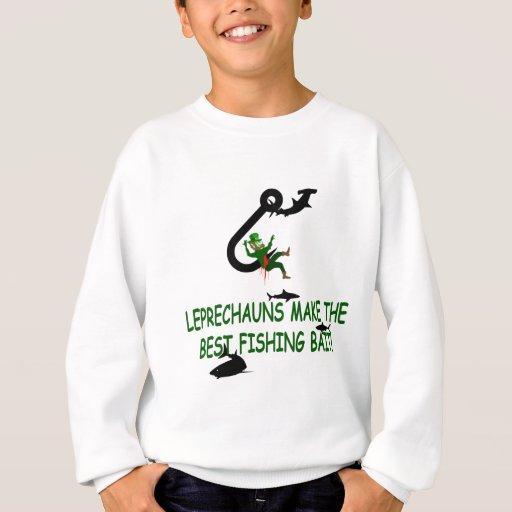 Día del St Patricks del Leprechaun Sudadera