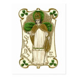 Día del St Patricks del Victorian Postales