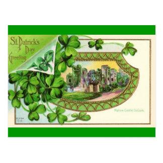Día del St Patricks del vintage Tarjetas Postales