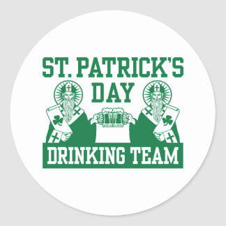 Día del St. Patricks divertido Pegatina