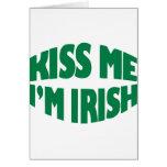 Día del St. Patricks Felicitacion
