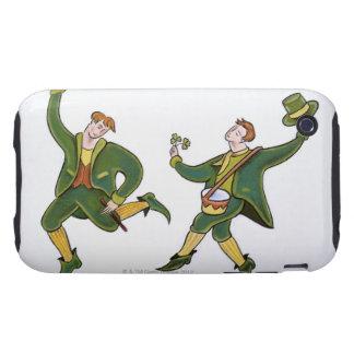 Día del St Patricks iPhone 3 Tough Protectores