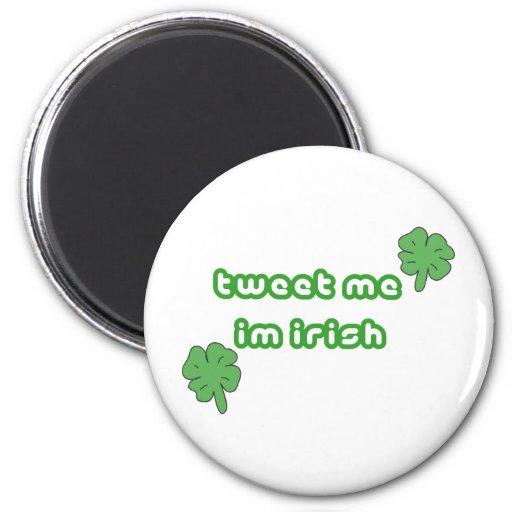 Día del St Patricks Imán Redondo 5 Cm
