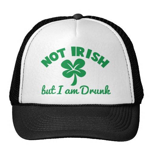 DÍA del ST PATRICKS NO IRLANDÉS pero yo está el di Gorras