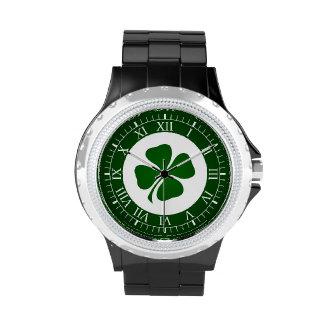 Día del St Patricks Relojes De Mano