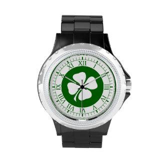 Día del St Patricks Relojes De Pulsera