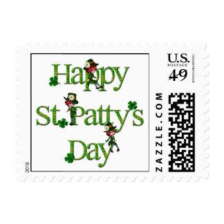 Día del St. Patty feliz Sellos Postales