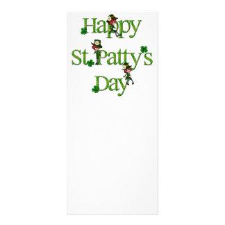 Día del St. Patty feliz Plantillas De Lonas