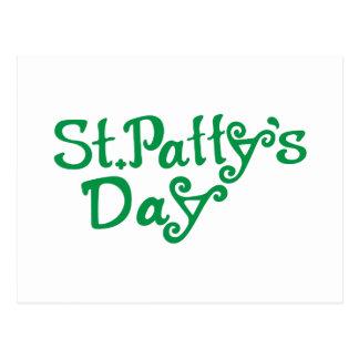 Día del St. Pattys Tarjeta Postal