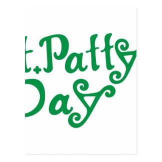 Día del St. Pattys Tarjetas Postales