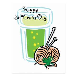 Día del St. Yarnies Postales