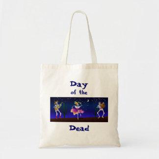 Día del tote muerto bolsa tela barata