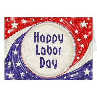 Día del Trabajo feliz Tarjeta De Felicitación