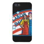 Día del Trabajo iPhone 5 Protectores