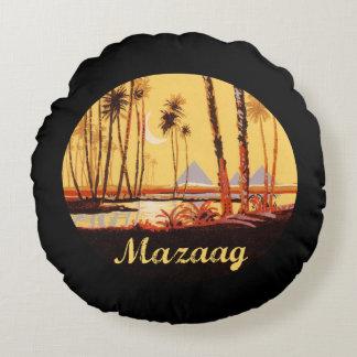Día del vintage de Mazaag Cojín Redondo