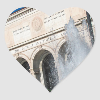 DIA - Detroit Institute of Arts Heart Sticker