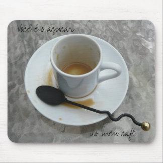 Dia dos Namorados Cafezinho mouse pad