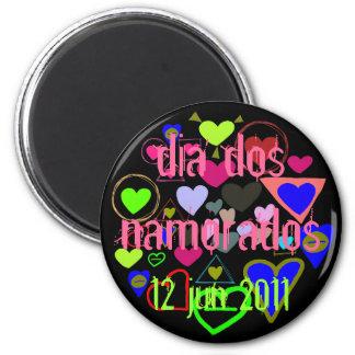 Dia dos Namorados é 12 de junho de 2011 Magnet