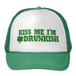 Día Drunkish del St Patricks Gorro