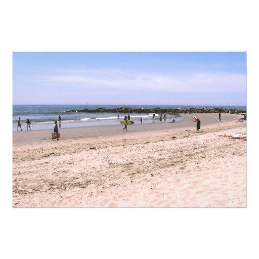 Día en la playa fotografías