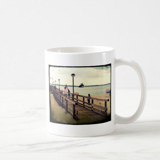 Día en la playa taza
