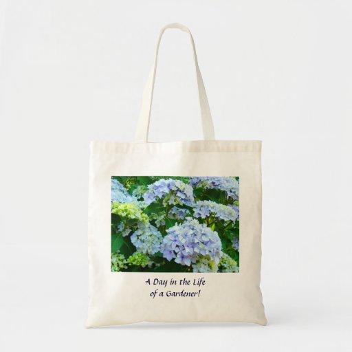 ¡Día en la vida de un jardinero! Hydrangeas de la Bolsa Tela Barata