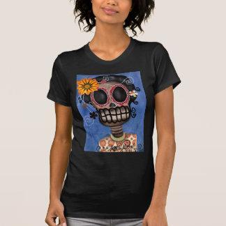 Día esquelético de Muerta de la camisa muerta