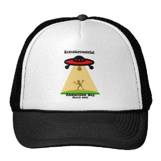Día extraterrestre de la abducción gorra